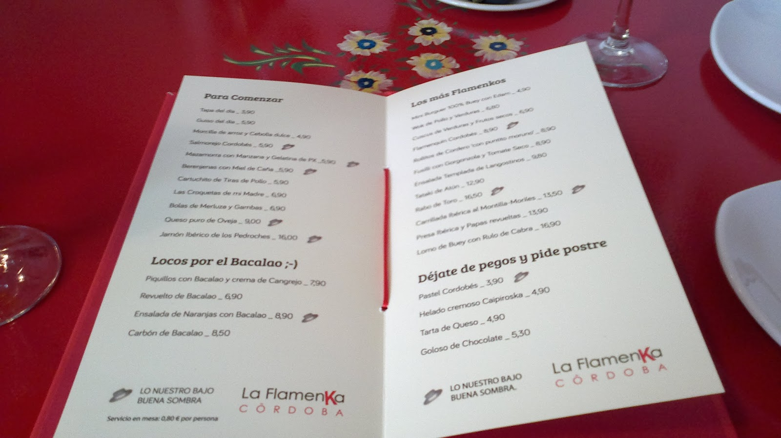 Aderramar vinos la flamenka m s que un restaurante for Cocina 33 cordoba