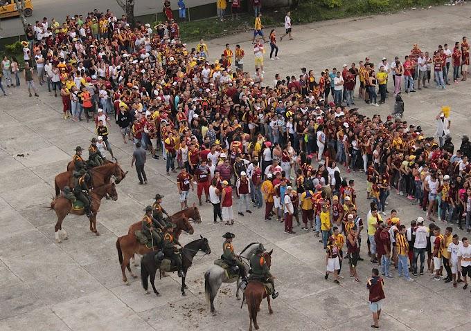 ¡Máxima seguridad! 700 policías brindarán dispositivos de seguridad para el juego DEPORTES TOLIMA - Boca