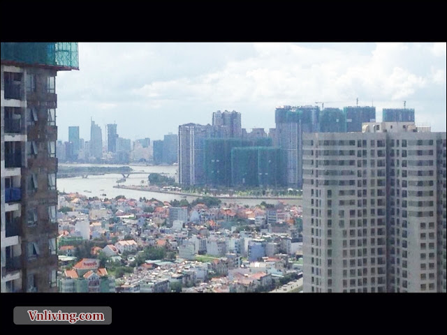 Penthouse Masteri Thao Dien apartment for rent in District 2