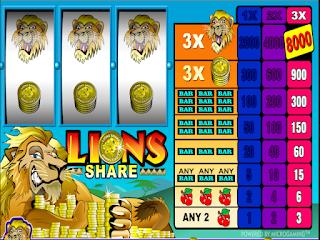 3 Lions Poker Slot