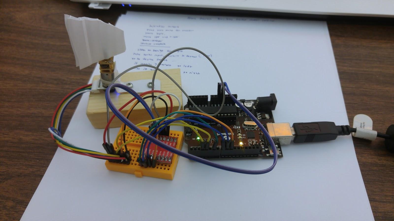Arduino rocket stabilization system [UD: 7/14/17] | Hackaday io