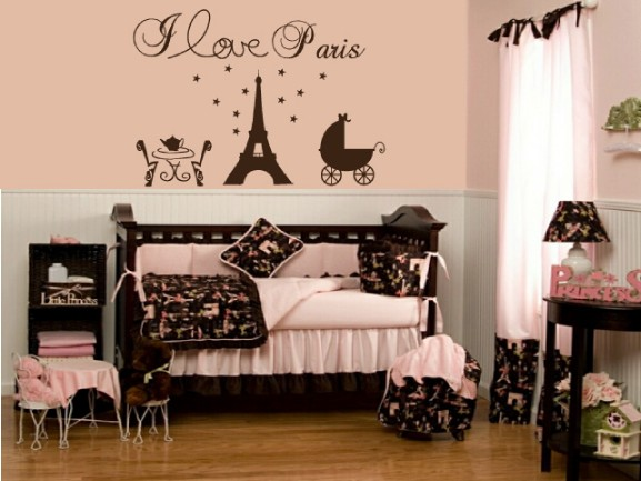 Parisian Baby Nursery Design, Pictures, Remodel, Decor and ...