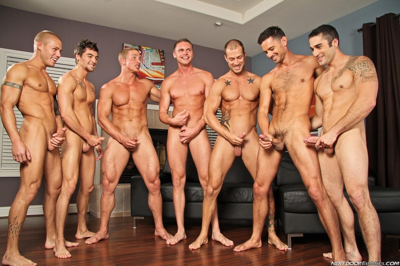 nude group guys masturbation