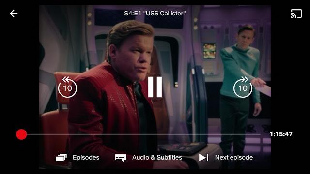 Netflix fast forward button