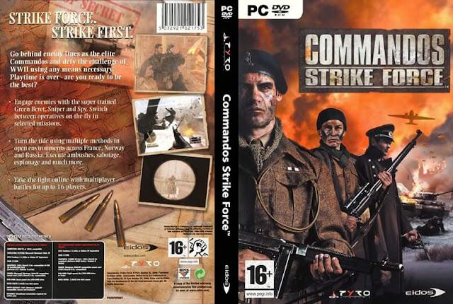 تنزيل لعبة الاكشن والمهمات Commandos - Strike Force  كاملة وبحجم 720 ميجا فقط وبرابط واحد من ميديافاير
