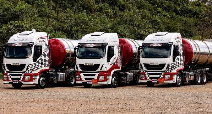 Rodofama Transportes amplia frota com 22 caminhões IVECO Hi-Way