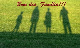Bom dia Família: Imagens e Mensagens