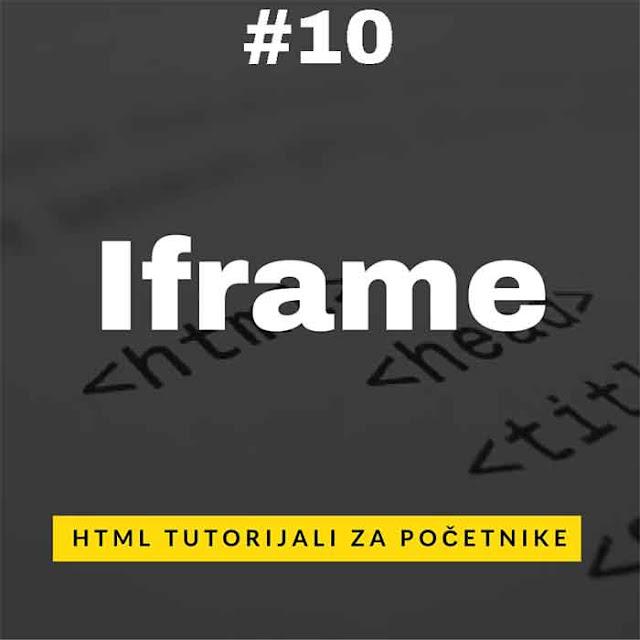 Šta je IFRAME i kako se koristi