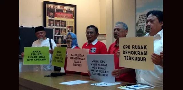 Cegah <i>People Power</i>, KPU Diingatkan untuk Netral