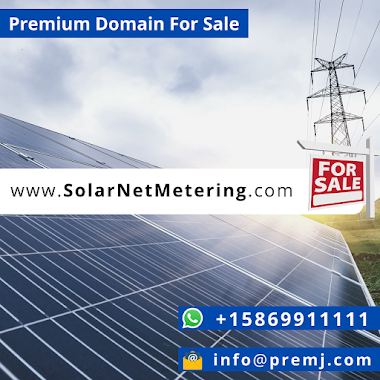 SolarNetMetering.com Premium Domain For Sale