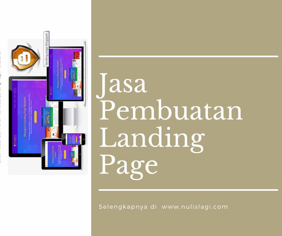 Jasa buat landing page