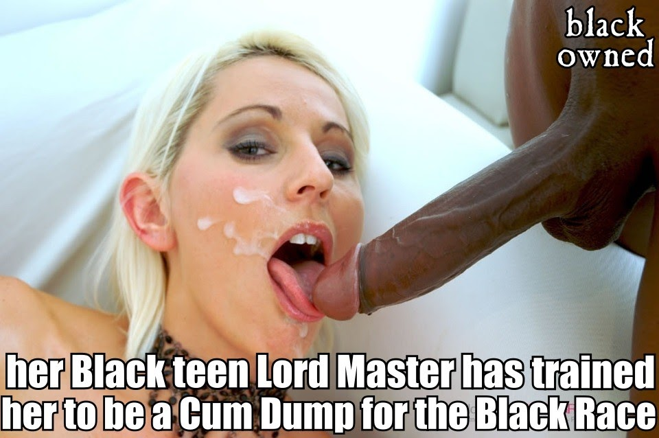 Black race domination porn