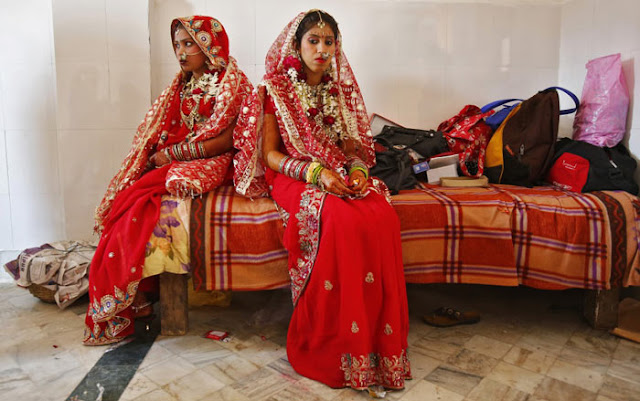 فستان الزفاف في الهند