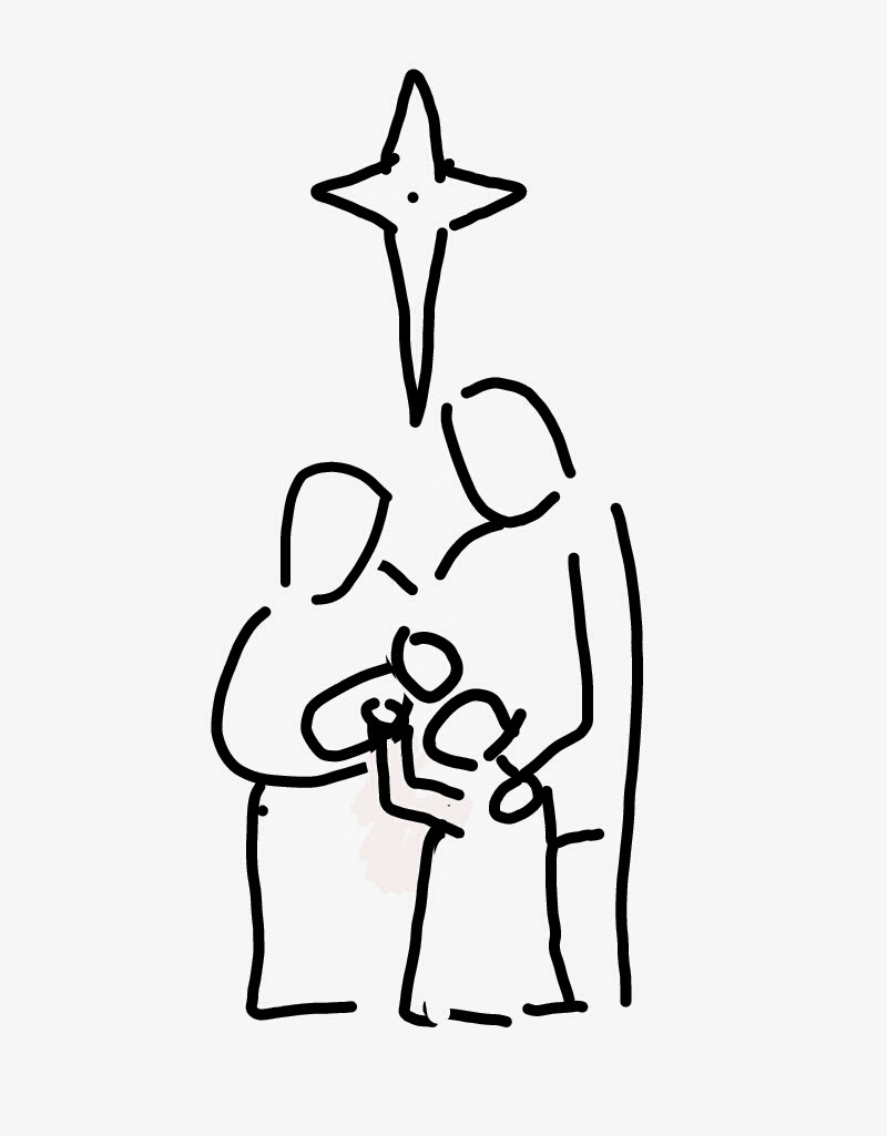 hail mary coloring pages - photo #22