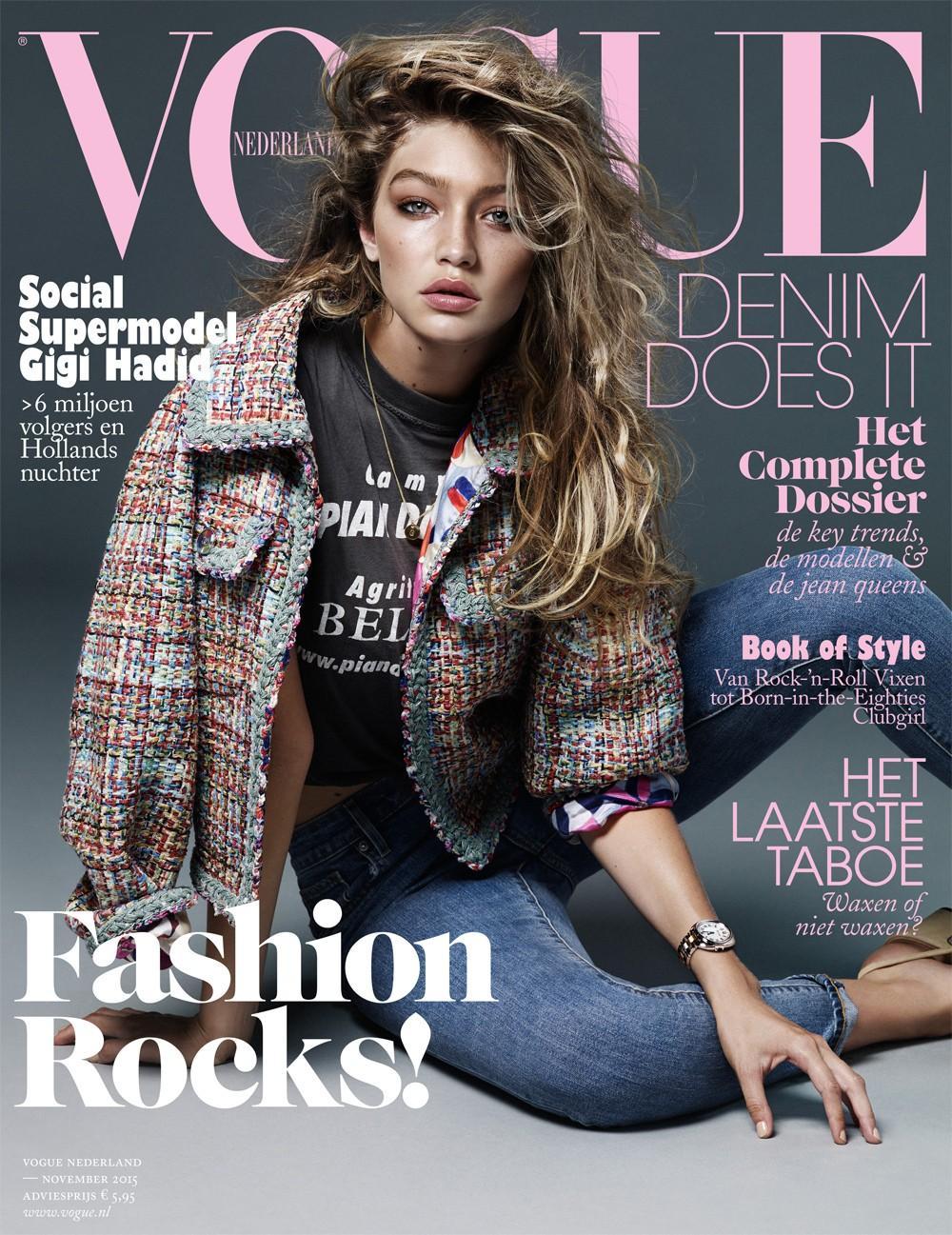 Vogue Magazine: Vogue's Covers: Gigi Hadid