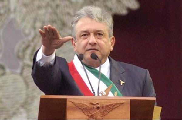 AMLO apoya eliminar dinero a partidos y quitar pensión a ex presidentes