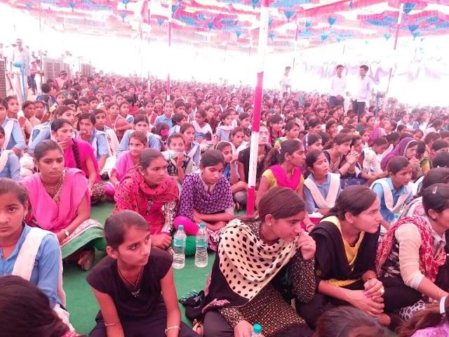 पांचवा बालिका शिक्षा प्रोत्साहन कार्यक्रम का किया गया आयोजन