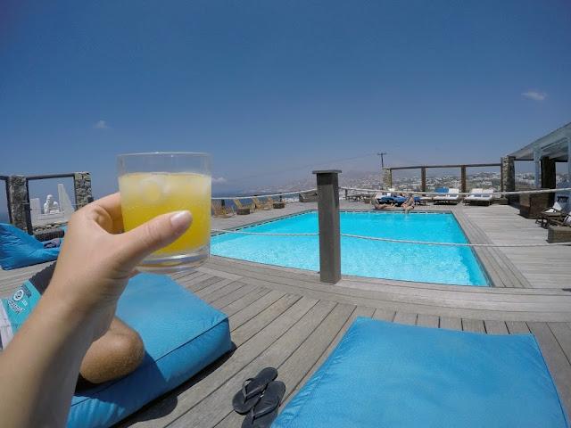 Tharroe of Mykonos Swimming Pool