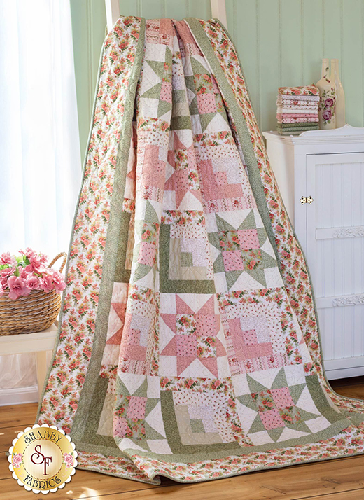 Gentle Garden Quilt designed by Mary Jane Carey for Henry Glass Fabrics