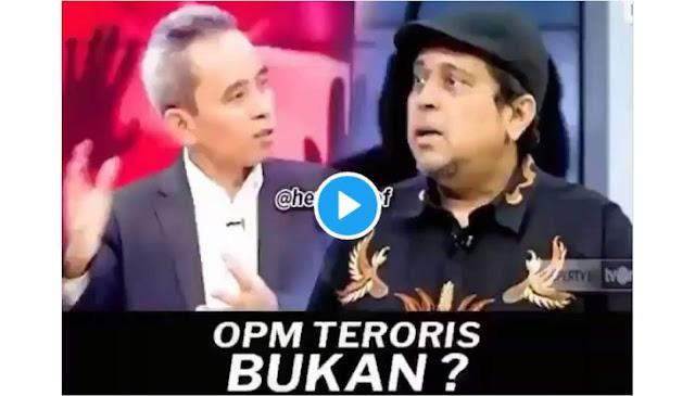 Dicecar Ustadz Haikal 'OPM Teroris Bukan? Kenapa Teroris Hanya Islam?', BNPT Gelagapan