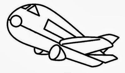 Desenhos De Avioes E Aeronaves Para Colorir E Imprimir Desenhos