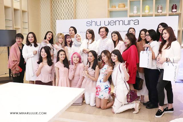 shu uemura indonesia event