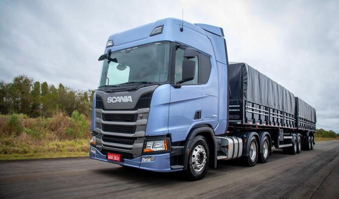 Nova geração Scania passa a garantir até 15% de redução no consumo de diesel