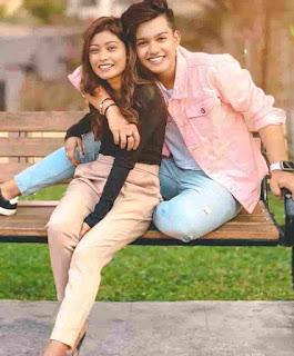 Riyaz Aly With Riza Afreen
