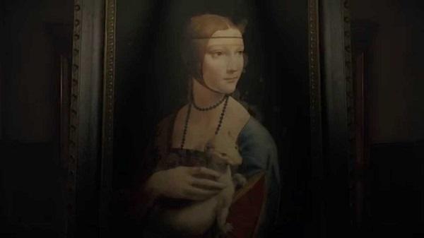 The artist used his wife as a painting model in Layers of Fear