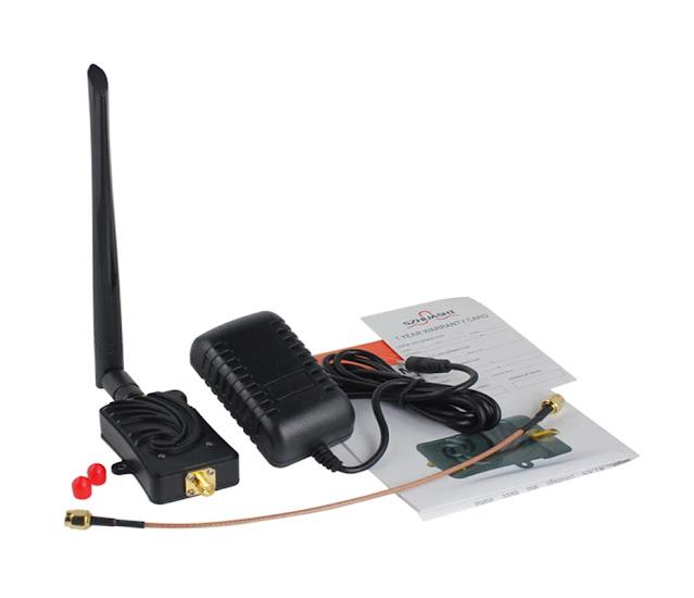 EDUP Wifi Amplifier 5Ghz 5W Power Wireless WiFi Extender 802.11a/n 6dBi Signal Range Long Range Wi-Fi Repeater Booster for Home