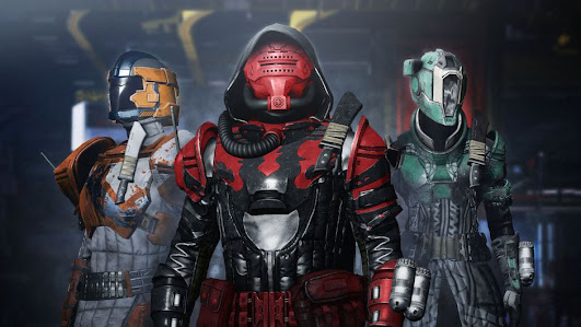 Destiny 2, Beyond the Light some game characters