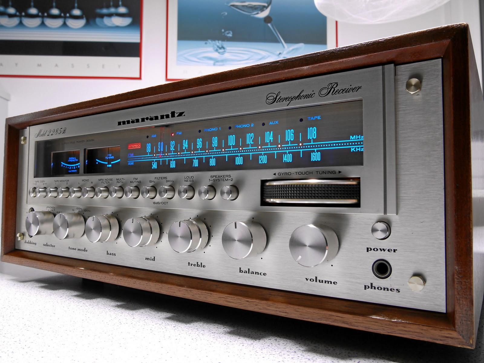 Best Vintage Stereo Receivers 117