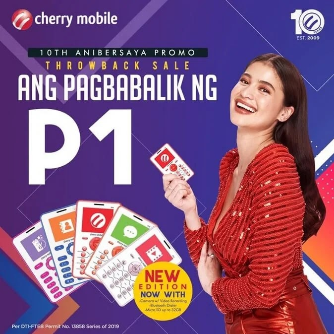 Cherry Mobile P1 Calculator Phone is Back for a Limited Time Only
