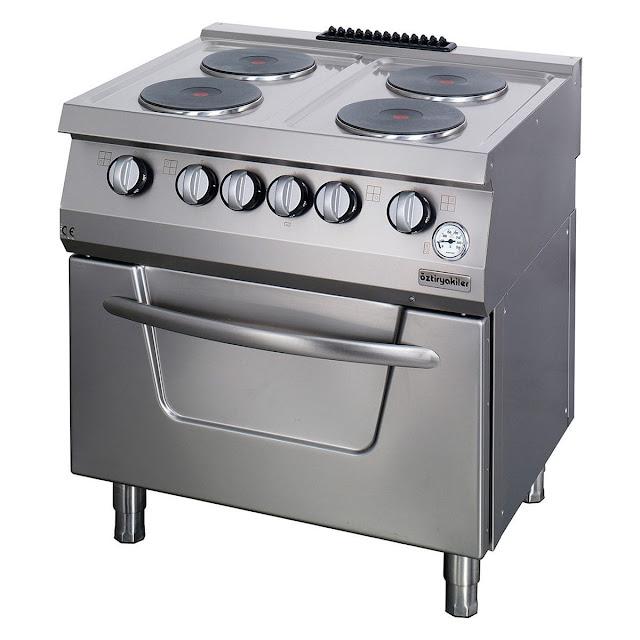 فرن مطبخ كهربائي مميز و عصري ستانلس ستيل