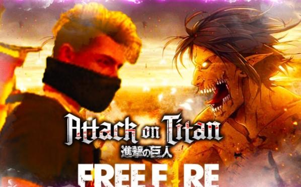 Free Fire X Attack Titan