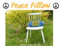 Peace Pillow designed by Minaz Jantz