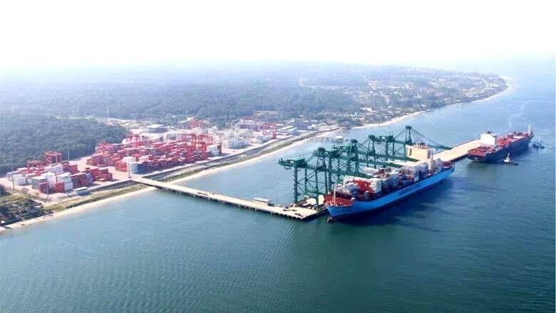 Porto Itapoá amplia o fluxo logístico para o extremo oriente