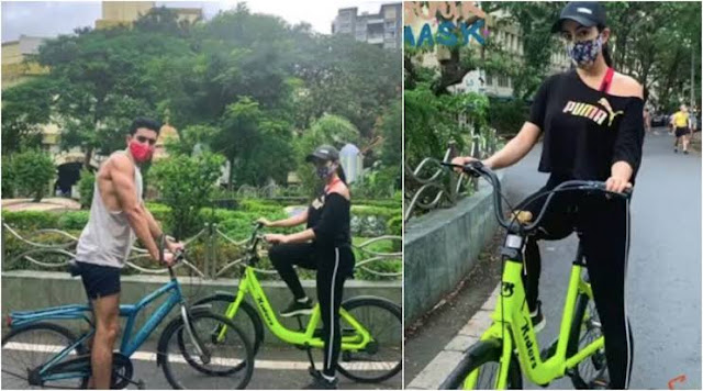 sara-ali-khan-and-go-cycling-in-mumbai
