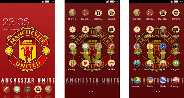 Kumpulan Tema Oppo Terbaik Manchester United