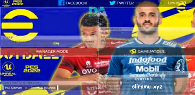 FTS Mod PES 2022 (300MB) Full Asia BRI Liga 1 Indonesia by Gila Game