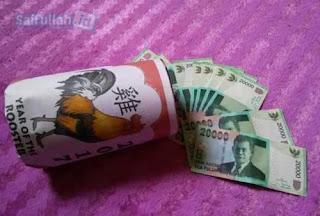 Diputus uang bulanan untuk jajan