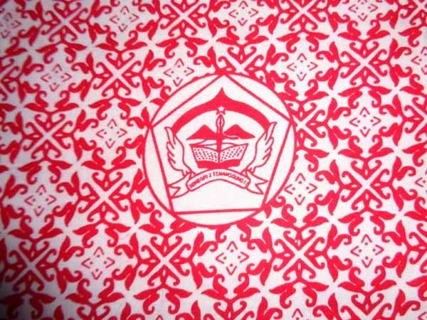 seragam batik printing sekolah SD negri 2 Temanggung