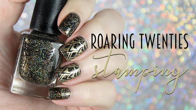 Grace-Full Nail Polish  Roaring 20's Stamping