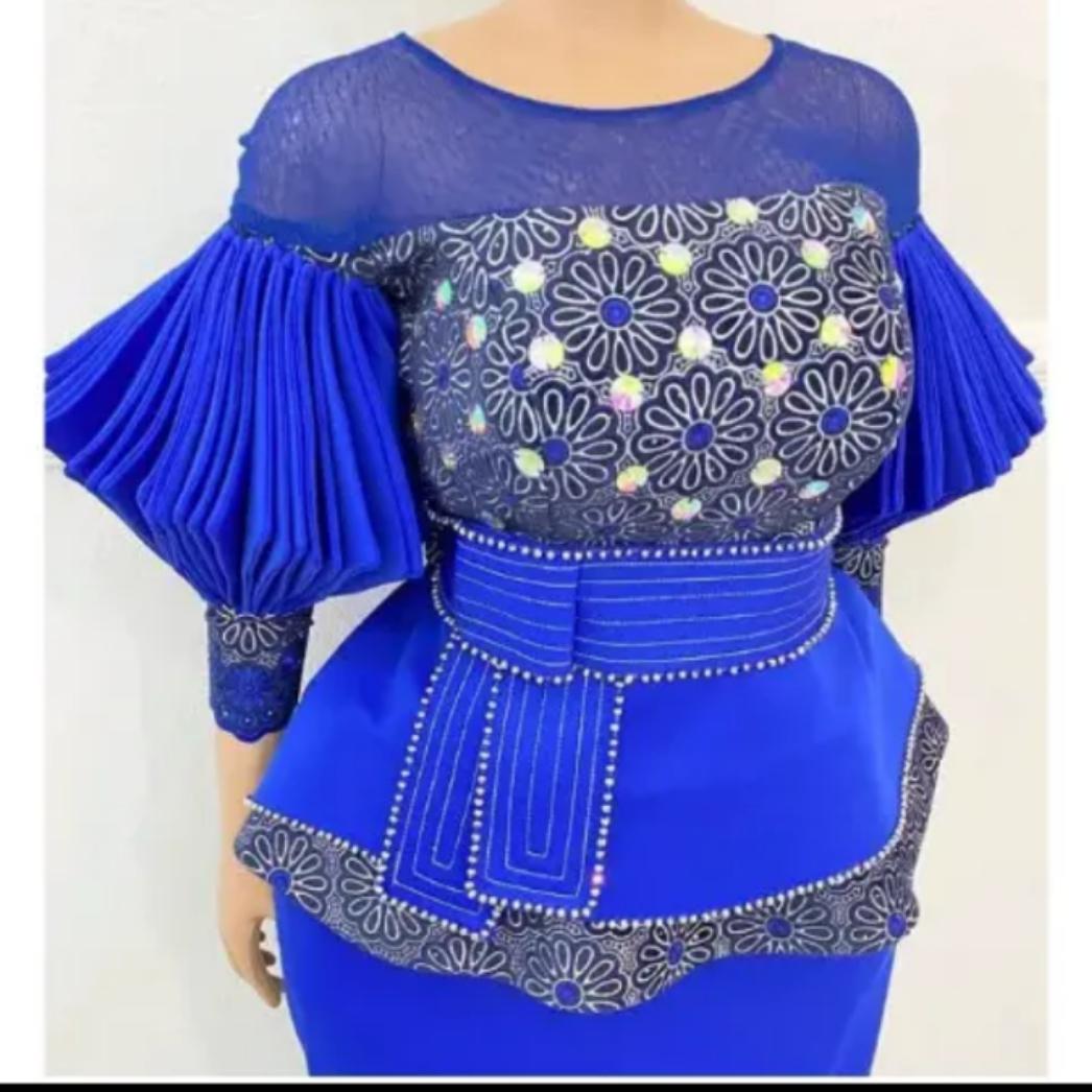 Checkout 100 Shadda Atamfa, Blouse and Yar Leda Styles for Hausa Ladies