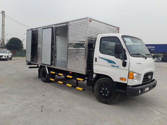 Xe tải Hyundai 110SQ thùng kín