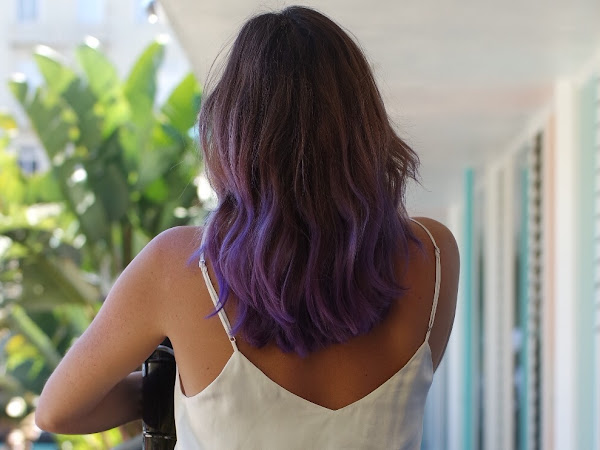 Purple Ombre Mermaid Hair
