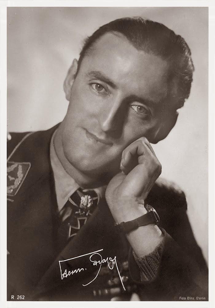 Hermann Graf Ritterkreuzträger Knight Cross Holder Postcard
