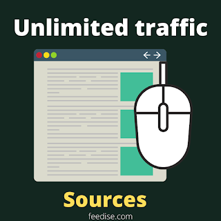 Unlimited traffic sources with keyword research