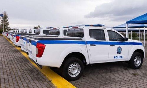 Παρελήφθησαν 53 νέα φορτηγά οχήματα υπηρεσιακού και ελεύθερου χρωματισμού, τα οποία εντάσσονται στον στόλο της Ελληνικής Αστυνομίας.