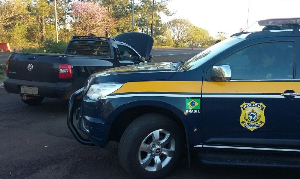 Prf prende condutor com ve culo furtado e arma de fogo na for Interior y policia consulta de arma